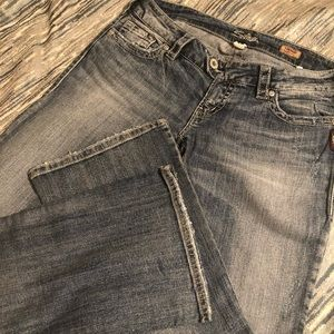 Tuesday Bootcut Silver Jeans